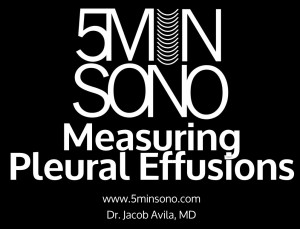 Measuring Pleural Effusion